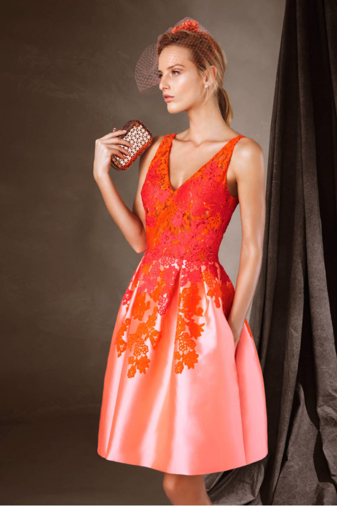 Вечернее платье Capucine